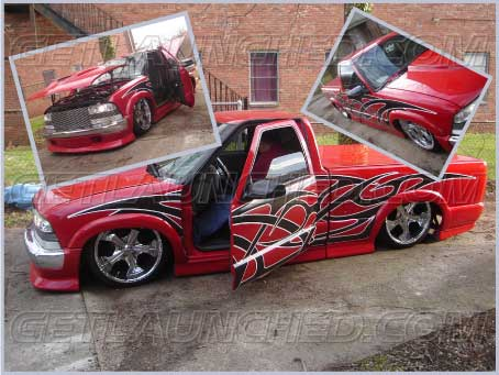 GetLaunched Custom Designed Vinyl Graphics Decals Turn Heads And - Custom truck decals vinyls