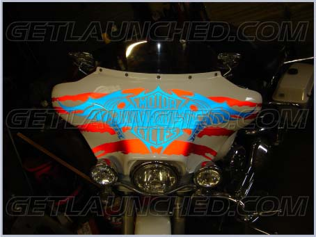 GetLaunched Custom Designed Vinyl Graphics Decals Turn Heads And - Harley davidson custom vinyl stickers