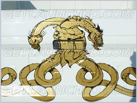 Hugging-Yin-Yang-Dragons-Truck-Graphics-Auto-Decals http://www.getlaunched.com