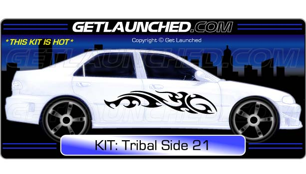 Tribal Car Decals 21