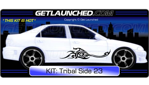 Tribal Car Decals 23