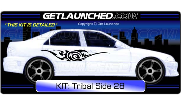 Tribal Car Decals 28