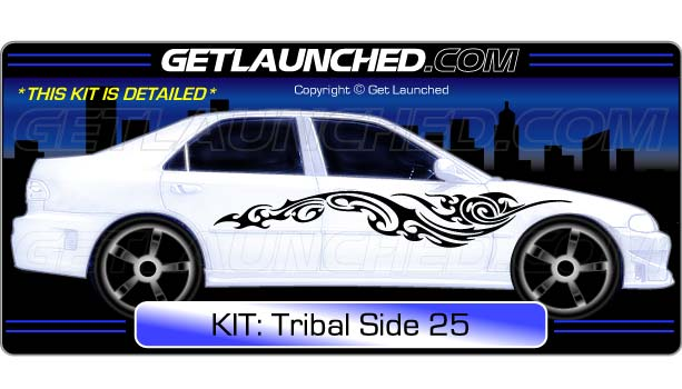 Tribal Car Decals 25